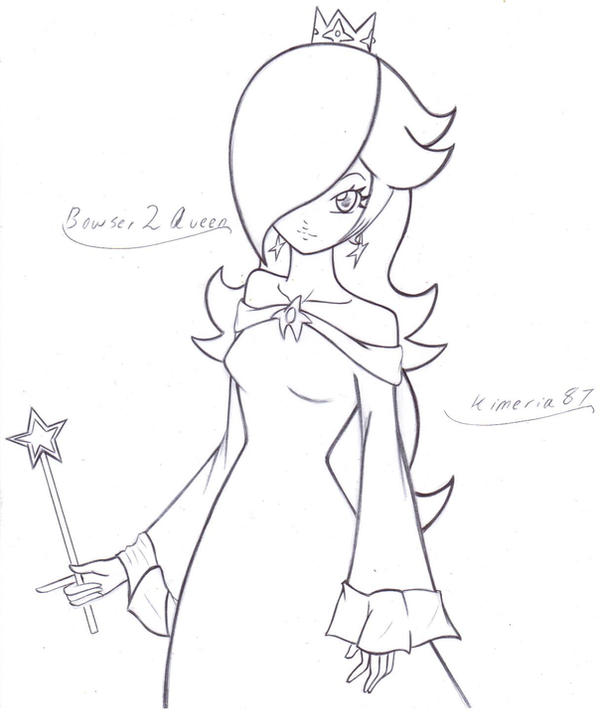Rosalina Coloring Pages Imagui Chibi Princess Rosalina Free Coloring Sheets