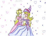 Peach with Dark Magician Girl