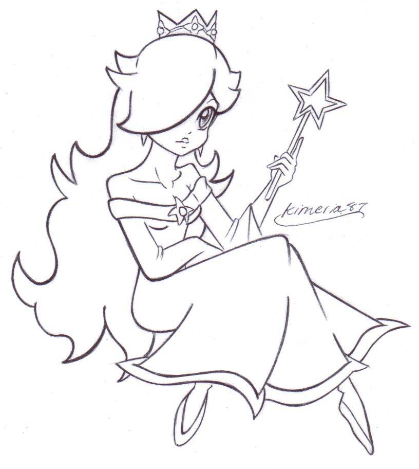 Lovely Rosalina- FREE LINES by - 354.8KB