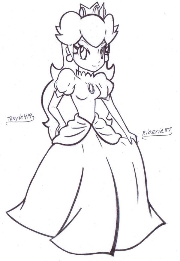 princess peach and princess daisy coloring pages. princess peach coloring pages