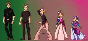 MischievousMidna to Princess Zelda TF TG by Kimeria87