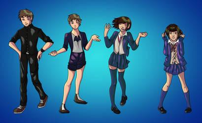 TF TG Schoolgirl Transformation! :O :Commission
