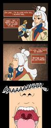 Paya EATS Link! :O -Vore comic- by Kimeria87