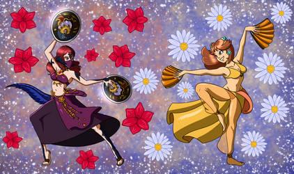 Amaryllis and Dance Partner Princess Daisy :comm: