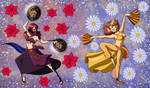 Amaryllis and Dance Partner Princess Daisy :comm: by Kimeria87