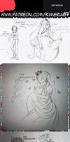 June 2021 Patreon Doodle Requests