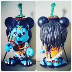 Shiva Mickey Mouse Custom DIY Toy