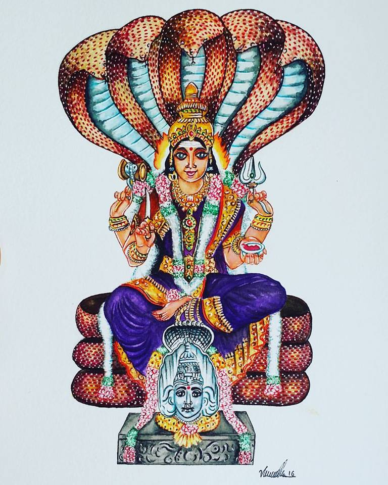 earth goddess with snakes During the monsoon season, goddess manasa is worshiped, mainly in eastern india, throughout the summer months, a time when the snakes become active.