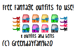 Fantage Custom Outfits by greendayfan4620