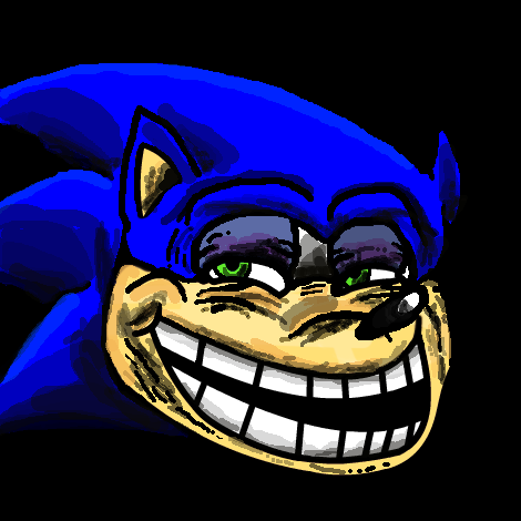 Cupcakes! Sonic_troll_face_by_theblueblur242-d4fne1o