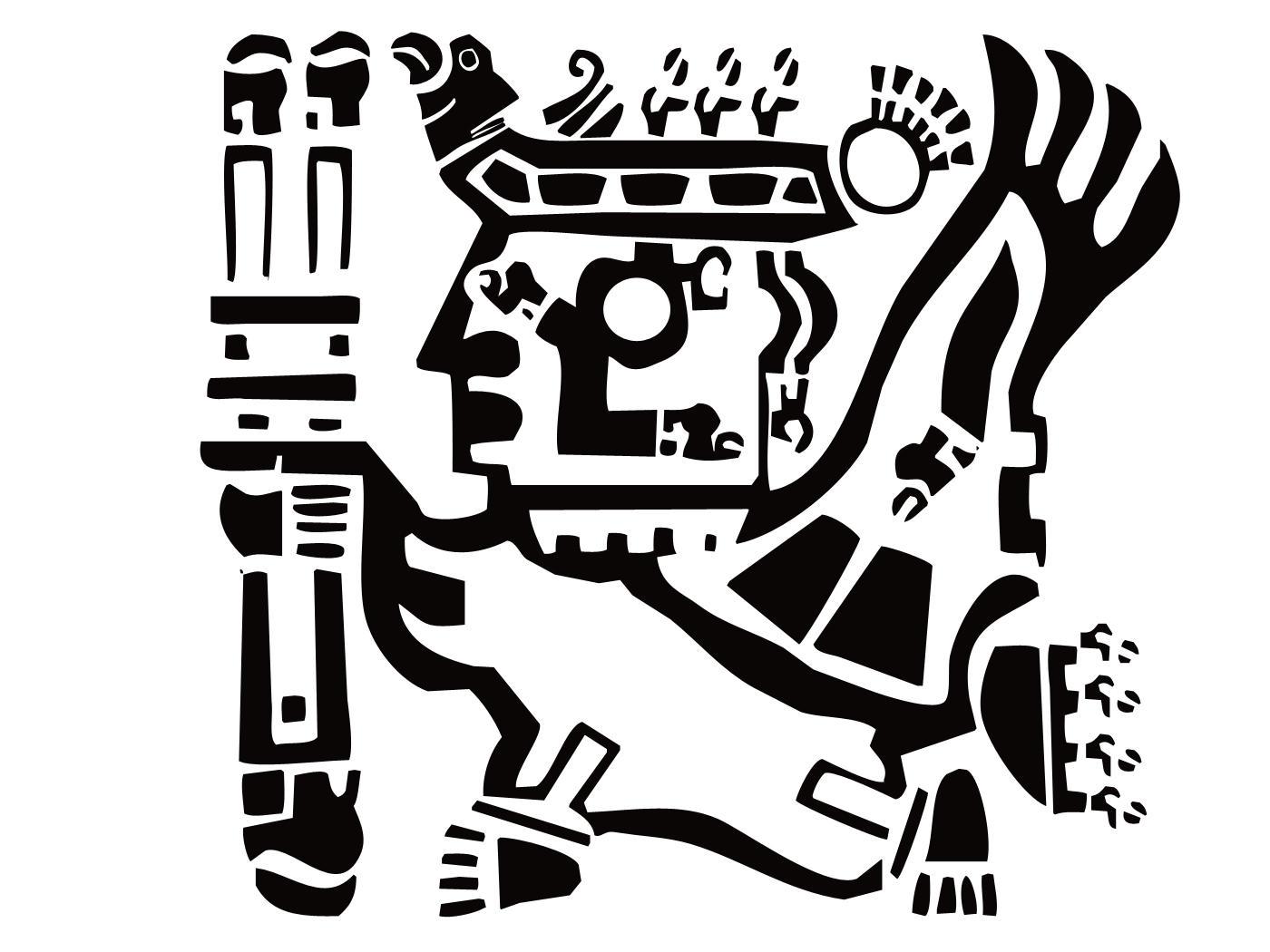 Inca warrior filled by boschdienst on deviantart for Peruvian tattoos designs