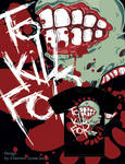 T-shirt design -To Kill For-