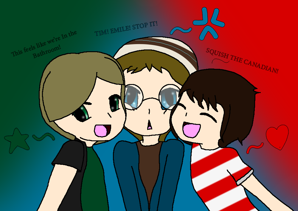 TRG - Squish the Canadian! by BloodCoveredTears