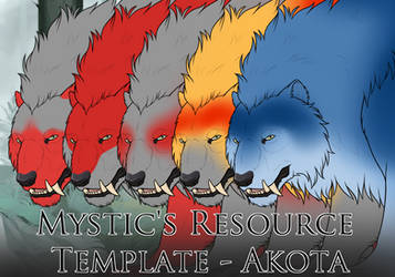 Mystic's Resource Template - Akota Build