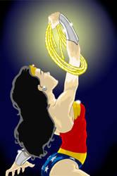 Wonder Woman Day Charity Piece by kumajin1