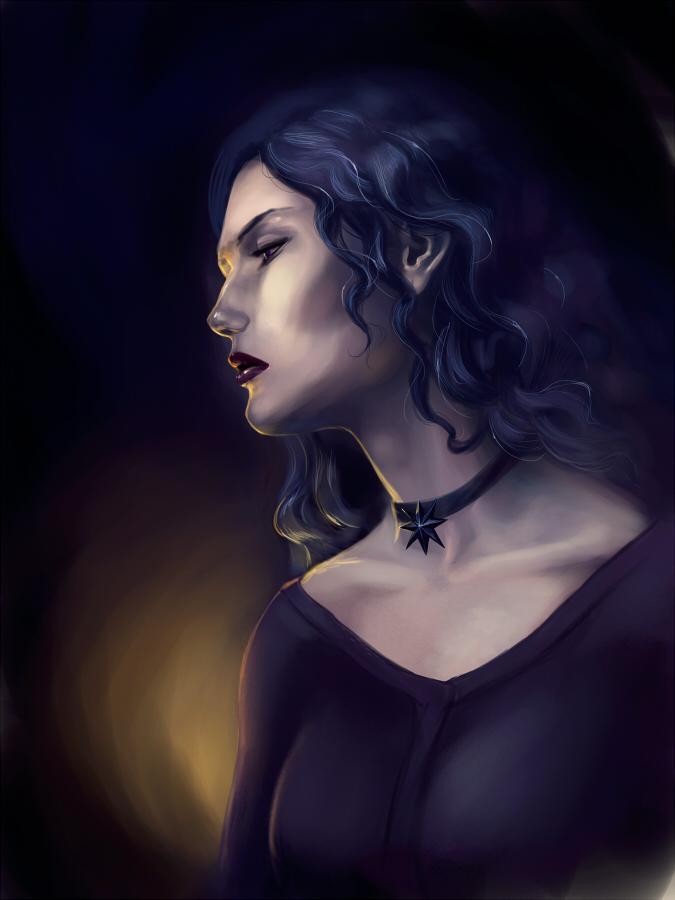 Yennefer by Velena-Gorosama