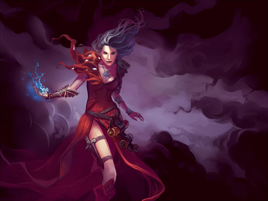 Diablo wizard by Velena-Gorosama