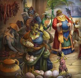 Suran: The Orc Mama
