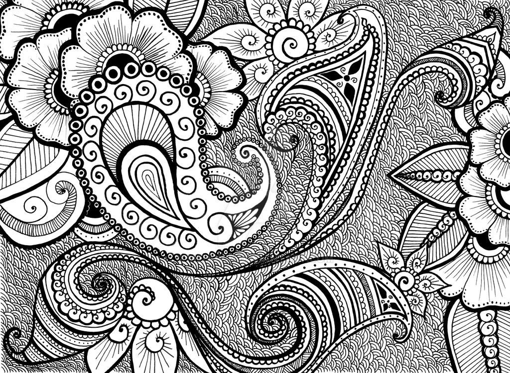 Line Art Poster Design : Henna design by mehovik on deviantart
