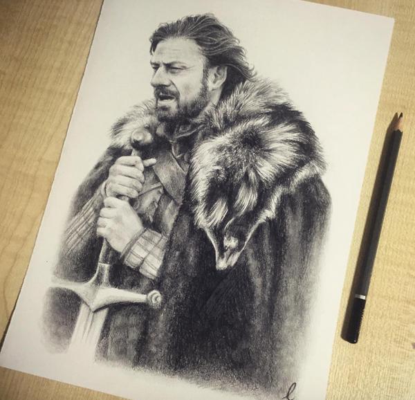 Ned Stark by llegolas