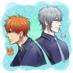 Fruits Basket Kyo and Yuki Sketch