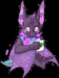 Pastel Coffee Bat