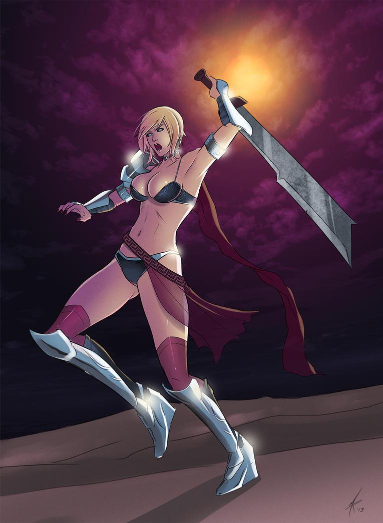 Titangirl by HeroineAddict