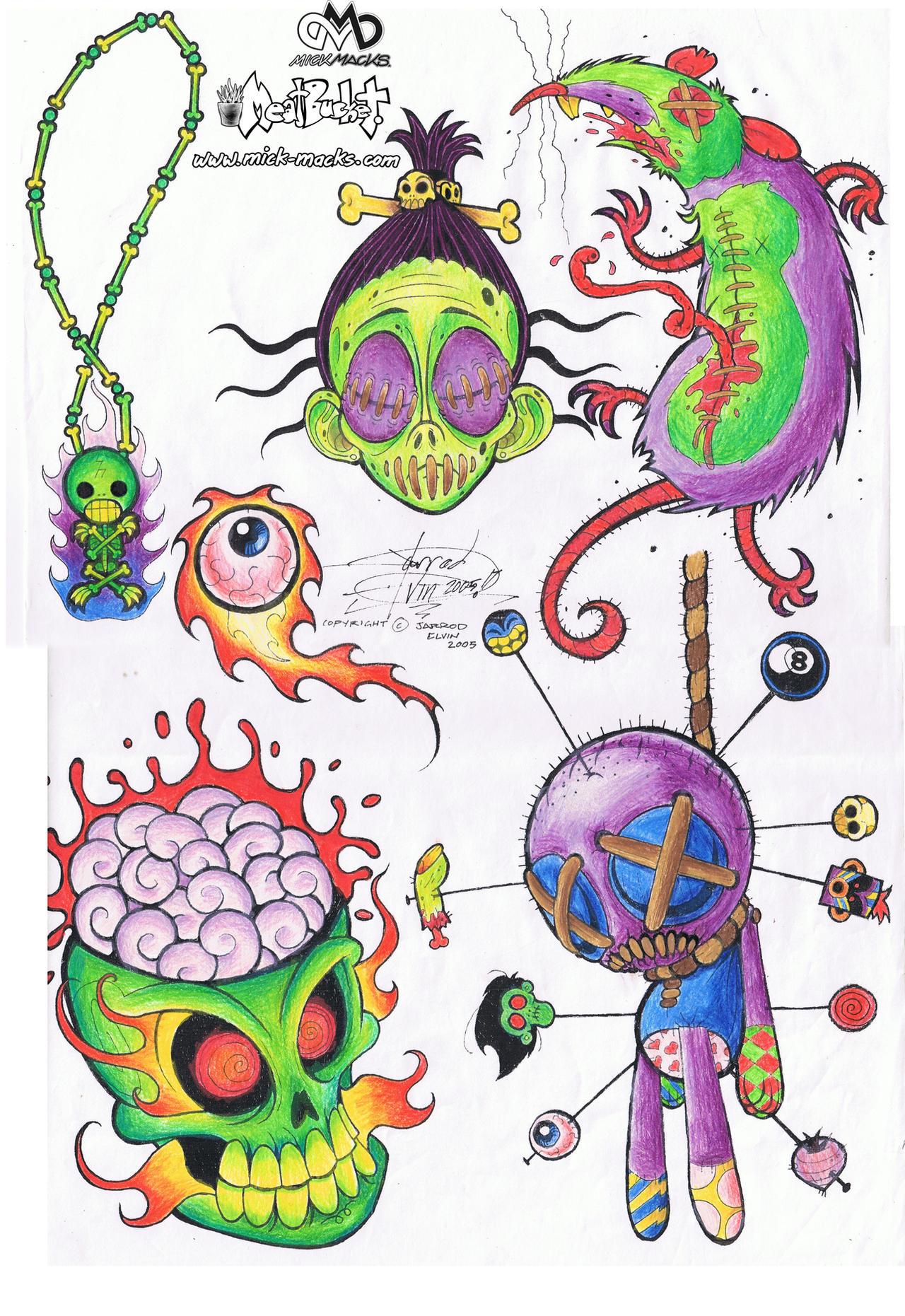 voodoo tattoo designs by jarrrodelvin on deviantart. Black Bedroom Furniture Sets. Home Design Ideas