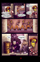 Checkers' Asylum Sample Page by JarrrodElvin