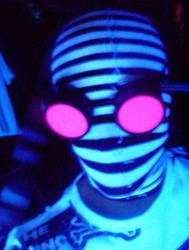 Sock Neon Ninja