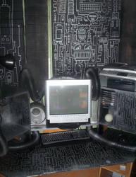 A Photo of my Cockpit 04 by JarrrodElvin