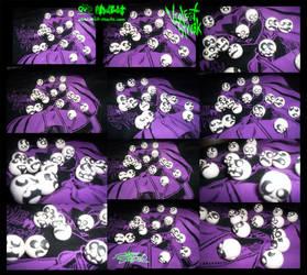 VioleNt Streak: Cosplay Beads