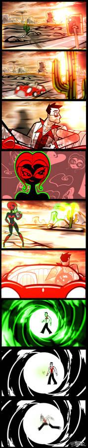 ST: Death Ray: AnimationStills