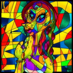 Slimey Things: Parallel Girl by JarrrodElvin