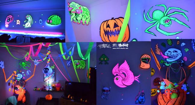 UV Party Decorations by JarrrodElvin