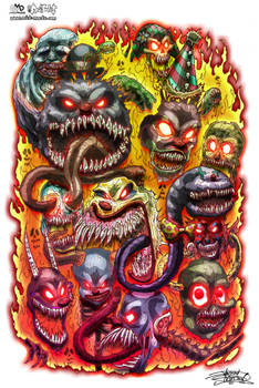 Psycho Clowns From Hell