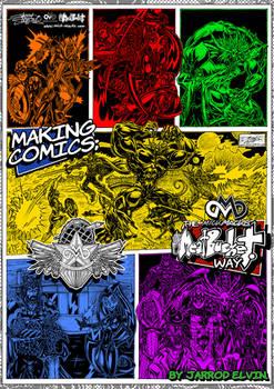 'MAKING COMICS: The MickMacks Meatbucket Way'