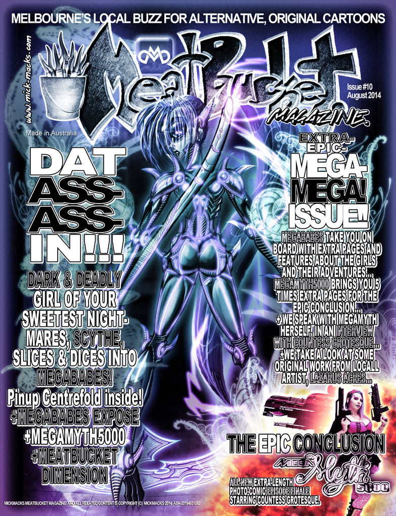 MickMacks' Meatbucket Magazine #10 by JarrrodElvin