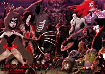 'Vania' Halloween Poster by JarrrodElvin