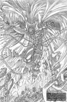 Spawn Fan Art - (Digital) Pencils by JarrrodElvin
