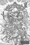 Avengers Fan Art - (Digital) Pencils