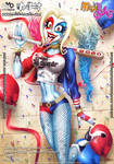 MegaBabes - Fidget - Cosplay Party - Harley Quinn