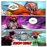 Bison? NOBODY CARES! - Sonic Trailer Parody