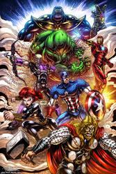 Avengers Fan Art - Colours