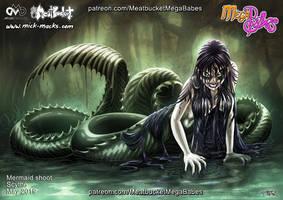 MegaBabes - Scythe - Mermaid
