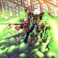 Spider-Man Far From Home Fan Art.