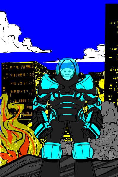 Reddit found a supersuit