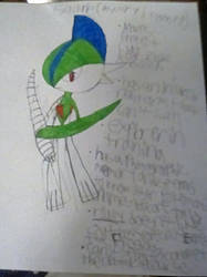 Gallade (mystery dungeon rp)