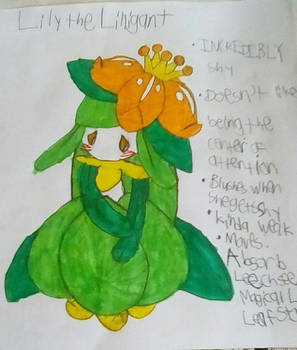 Lily the Lilligant (mystery dungeon rp)