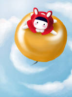 Flying - Happy Birthday, Kulla by Ashqtara